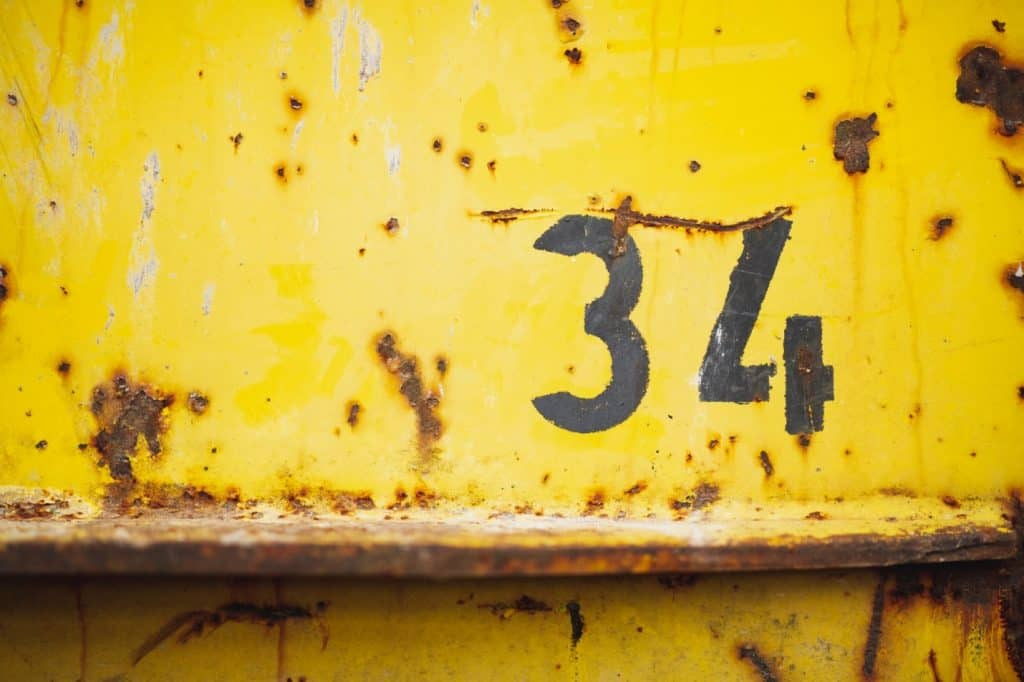 numerology house number 34