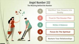 angel number 222 infographic