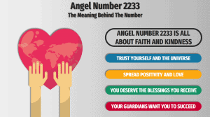 Angel Number 2233 infographic