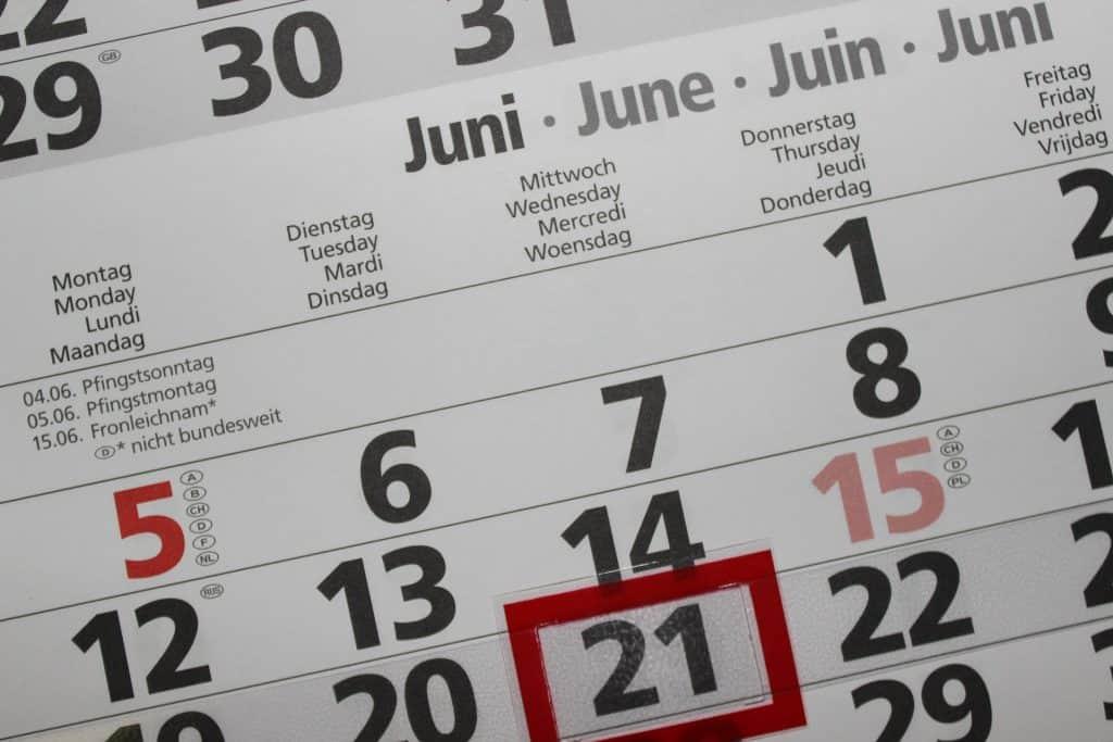 Science Behind Numerology - Calendar